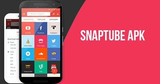 SnapTube Vip – YouTube Downloader v4.87.14871201 APK cover