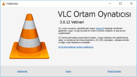 VLC 3.0.16.0   Katılımsız